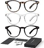 Riccardo Materossi - Premium Blaulichtfilter Brille, Bildschirmarbeitsbrille - Verringert...