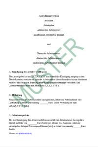 Abwicklungsvertrag Nach Einer Kündigung Arbeitsrecht 2019