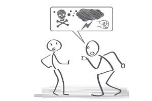 Wird der Arbeitgeber beleidigend oder gewalttätig, können Arbeitnehmer oft außerordentlich kündigen.