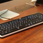 klassische beleuchtete tastatur