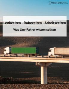 Ratgeber Lenk- und Ruhezeiten für Lkw-Fahrer