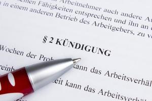 Die Kündigung In Der Probezeit Arbeitsrecht 2019