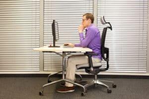 ergonomische tastatur buero
