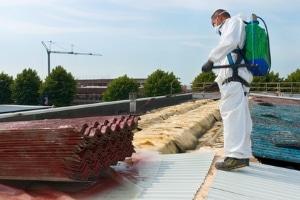 Gefahrstoffverordnung: Schutzkleidung, Mundschutz und Handschuhe sollen den direkten Kontakt verhindern.