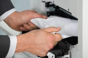 papierstau druckerpapier