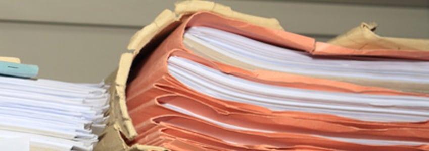 Die Personalakte enthält alle im Beschäftigungsverhältnis wichtigen Informationen.