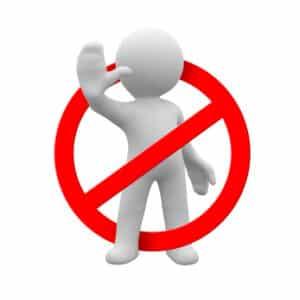 Es kann vom Arbeitgeber ein Rauchverbot während der Arbeitszeit ausgesprochen werden.