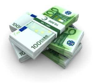 Steuerklasse 6: Basierend auf dem Prozentsatz für Kranken- und Rentenversicherung kann das Nettogehalt ermittelt werden.