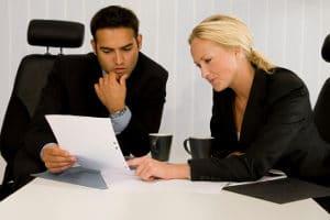 Mehrere Teilzeitbeschäftigte können sich eine Vollzeitstelle teilen.