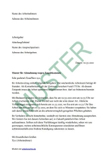Abmahnung Wegen Diebstahl Gem Arbeitsrecht Muster Abmahnung Fr Das